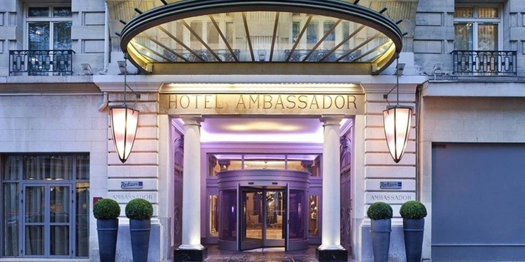 Hotel Paris. Book the Radisson Blu Ambassador Hotel, Paris Opera