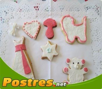 Receta SIN Thermomix: Decorar galletas con fondant,  Aprenderemos a decorar unas deliciosas galletitas con la famosa pasta fondant.