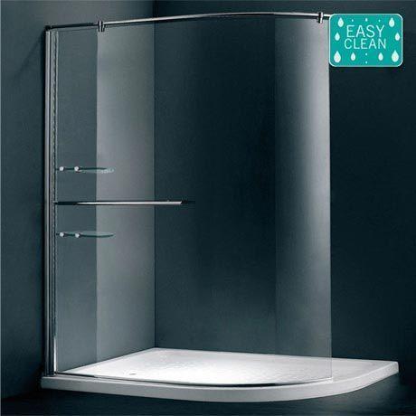 Matrix curved shower screen (1200x900) #ShowerEnclosure