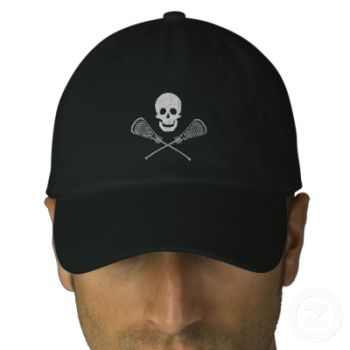 This item is embroidered. You may see some extra threads between parts of the design. These will be clipped prior to being shipped. Many More Lacrosse Designs Store Link = Lacrosse T-Shirts, Gifts, Cards and More CLICK ON OUR STORE LINK To See More. Embroidered Lacrosse Caps Sweatshirts Shirts & Bags: Embroidered Lacrosse designs are new this year. Buy this Lacrosse Skull and Cross Sticks Embroidered Cap. This unique Lacrosse Skull and Cross Sticks Embroidered Cap can be given anytime ...