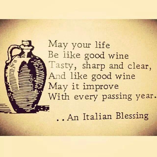 Italian blessing