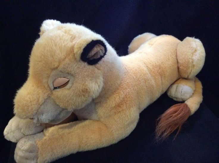 Disneyland WDW Sarabi Lion King Simbas Mom Plush Stuffed ...