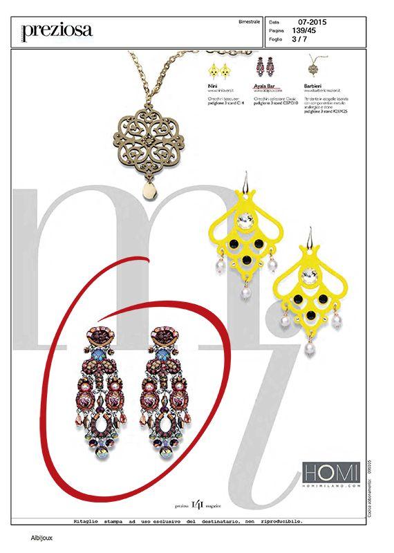 Press | AIBIJOUX Vogue Gioiello, Settembre 2015 #AyalaBar #fashionjewellery #bijoux #AIBIJOUX