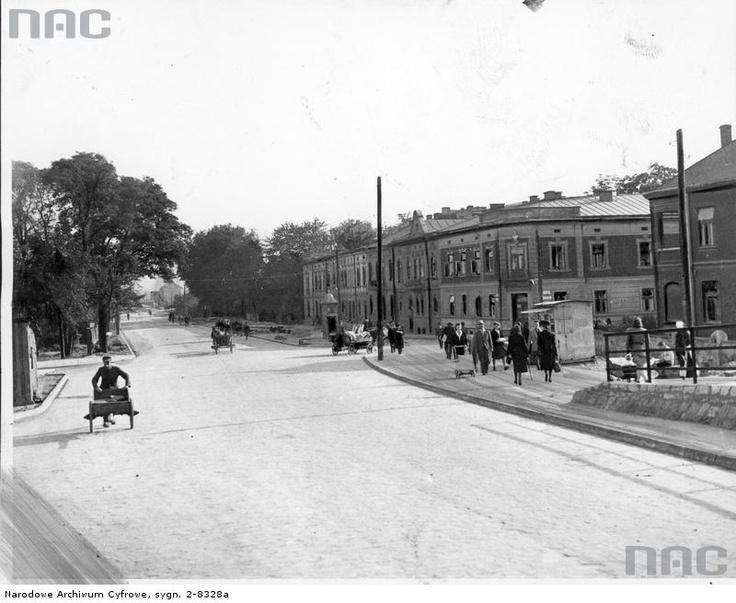 Ulica Beskidzka, 1943.