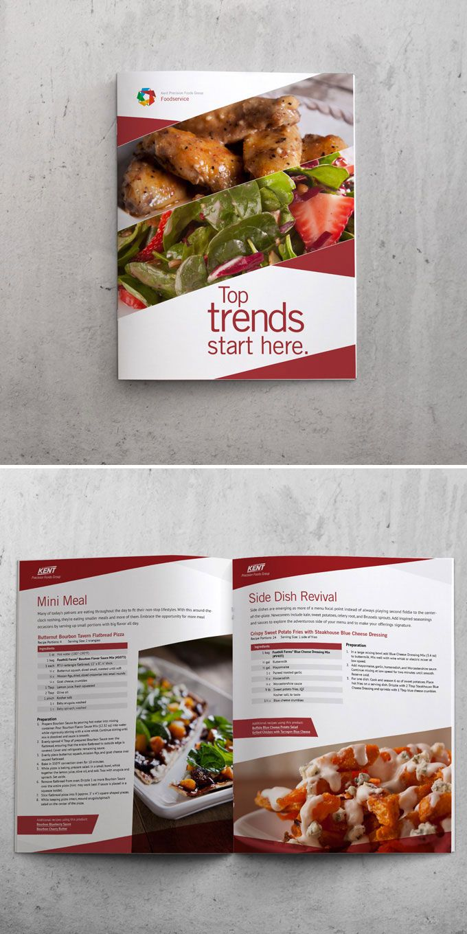 1000  images about brochure food on pinterest