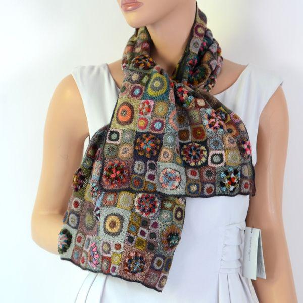 """DREAMLAND"" Sophie Digard - crochet scarf"