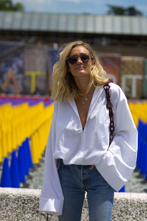Great outfit! So on point with the loose wide sleeves! Fond this shirt - quite similar: http://asos.do/8enrcB