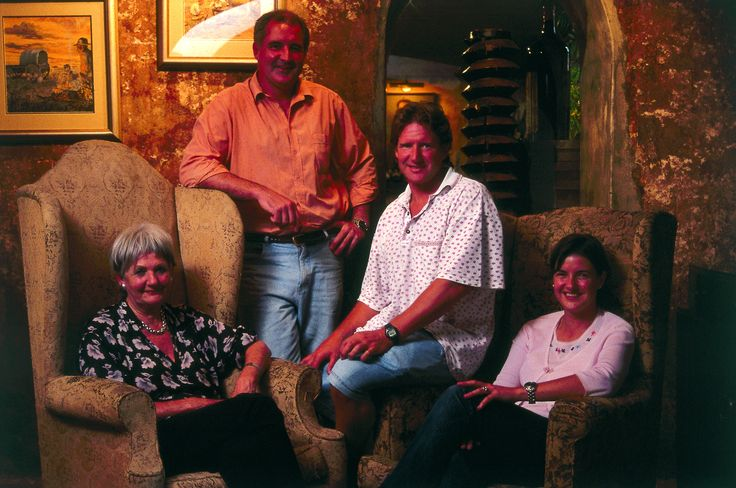 Annatjie Melck and her children https://www.facebook.com/muratiewine/ www.muratie.co.za