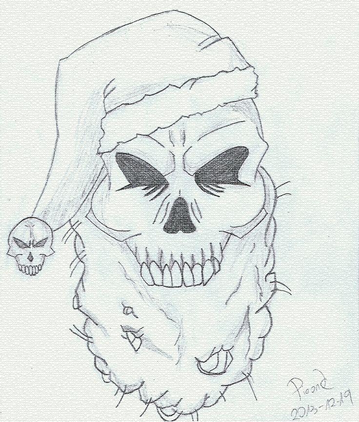 Santa sketch by Pieonk