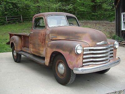 1949 Chevy 3800 1 Ton Pickup Survivor Unrestored 5 Window Deluxe Third Owner