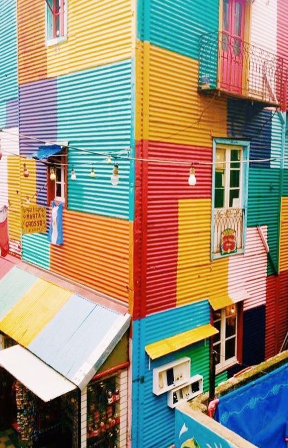 A atração mais colorida de Buenos Aires, o Caminito no bairro La Boca