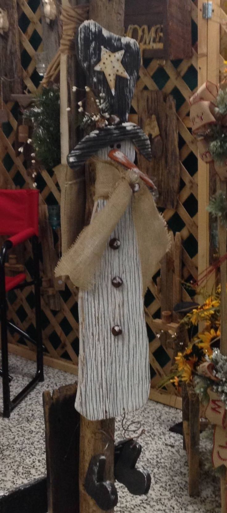 Primitive fall wood crafts - More More Wooden Snowmenprimitive Snowmenprimitive Craftschristmas