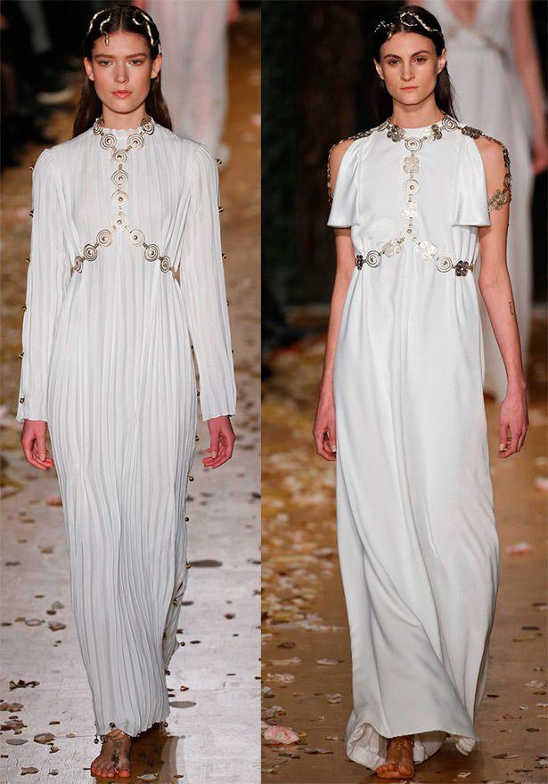 Белые платья от Valentino