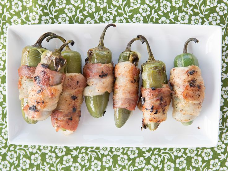 Grilled Stuffed Jalapeno Chiles Recipe : Marcela Valladolid : Food Network - FoodNetwork.com
