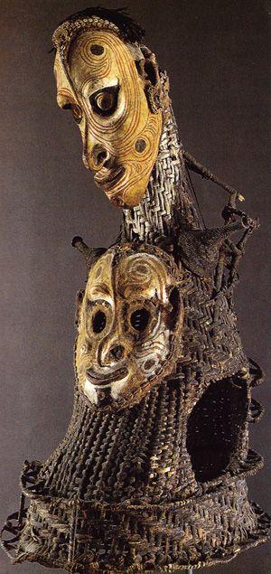 Abwan Mask © M. Kulturen-Bâle