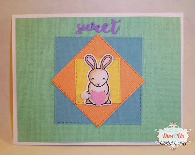 Dies R Us: All Occasion Bunny Card