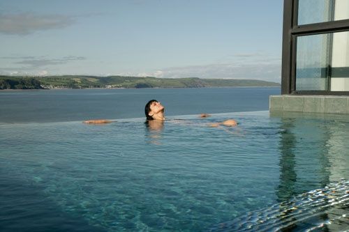 St Brides Hotel Saundersfoot  Pembrokeshire Wales - Infinity Pool