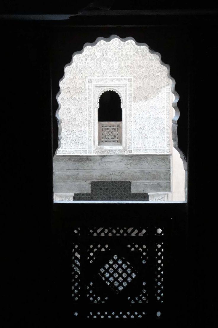 Marrakech 121118-1712 by Schoendy. Medersa Ben Youssef
