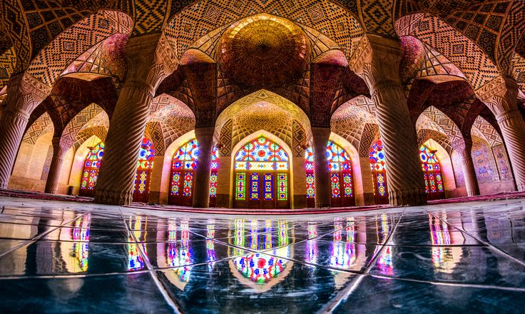 """""""THE AMAZING COLORS OF NASIR AL-MULK"""" *** Nasir al-Mulk is definitely one of its kind. It's incredible to think how back in the days, whoever built this mosque, managed to blend Islamic tradition with the beauty of a pioneering architecture, creating one of the world's most beautiful and unique religious places."""