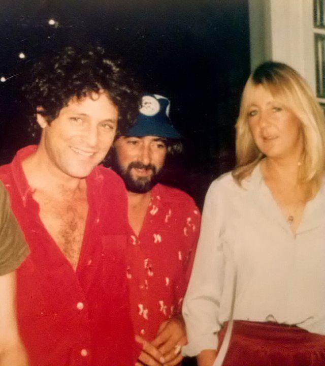 Lindsey Buckingham, John McVie and Christine McVie.
