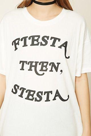Fiesta Then Siesta Graphic Tee