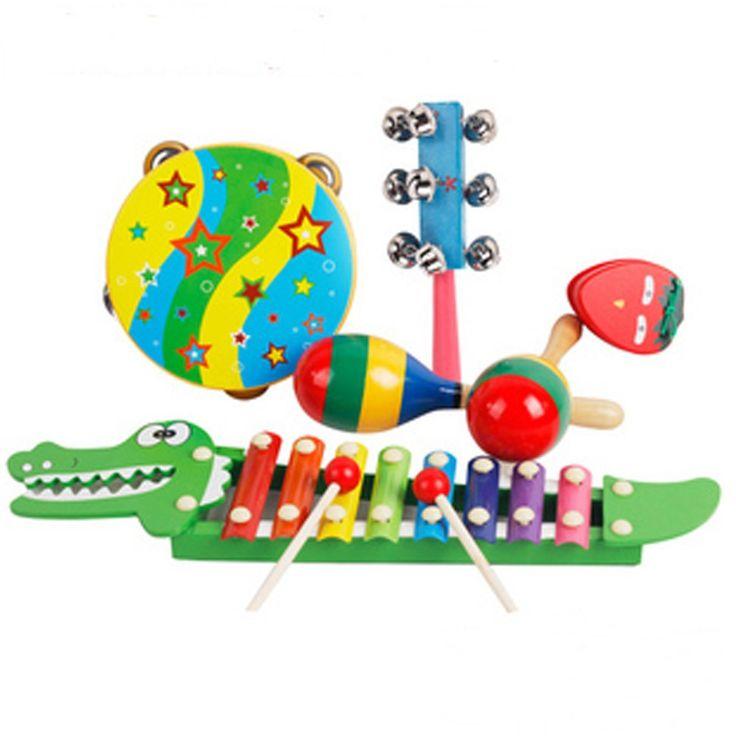 Musikinstrumente ab 1 Jahr - bitte KEIN Kunststoff, nur Holz / Metall / etc (Xylophon haben wir schon )