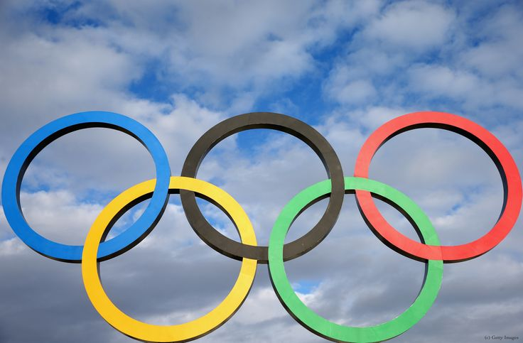 The Olympic Rings  in Sochi (c) Getty Images