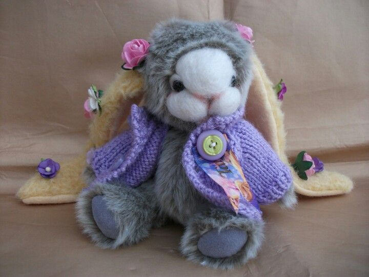 rapunzel bunny by bedlam bears  tangled