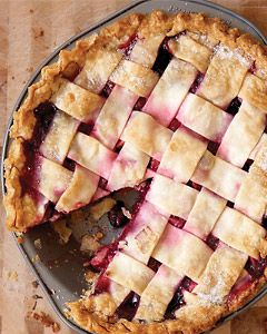 Bumbleberry pie from the Nest     Makes: One 9-inch pie