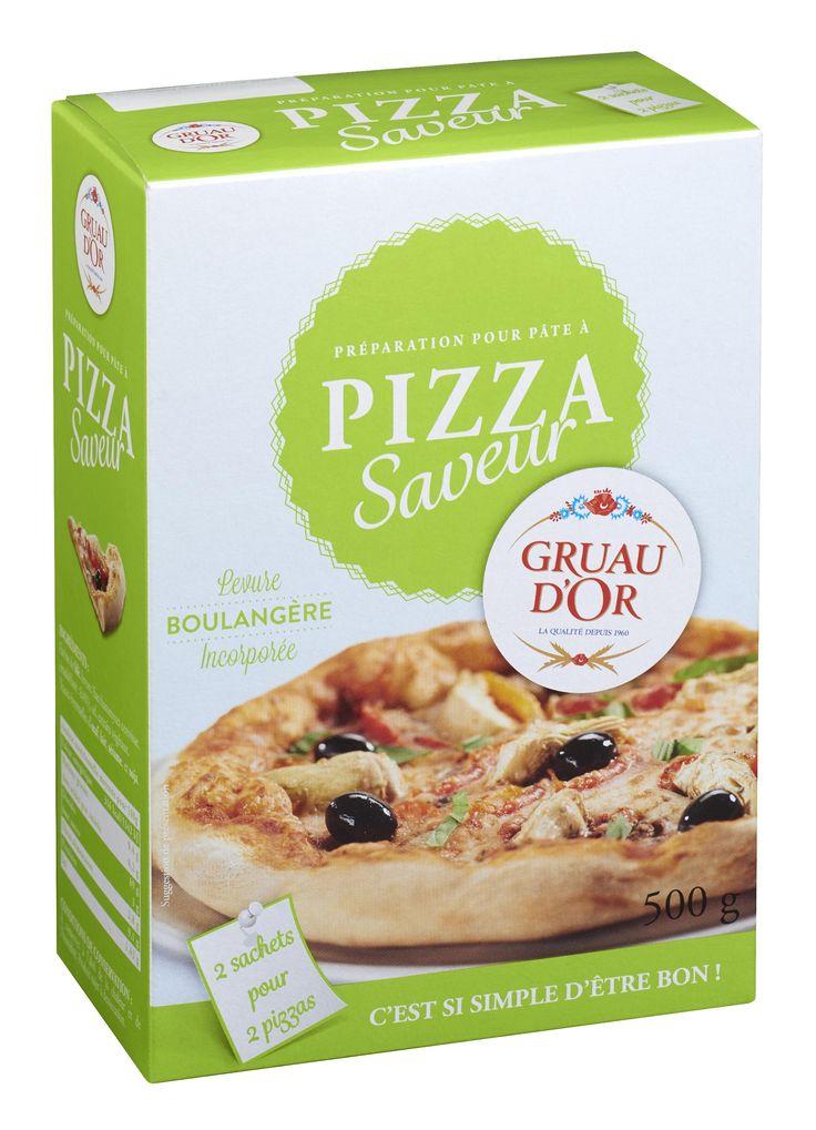 Préparation Pizza saveur