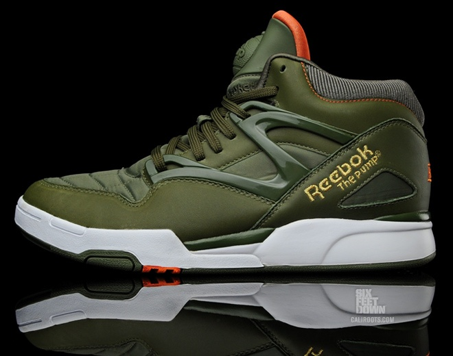 Reebok Pump - lovely color way.