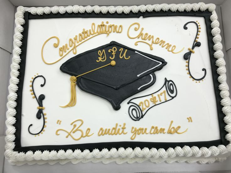 43 Best Graduation Sheet Cakes Images On Pinterest