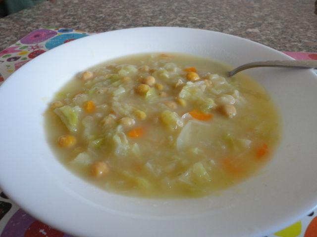 Cocido vegetariano TM5 - http://www.food4geek.it/ricette/cocido-vegetariano-tm5/
