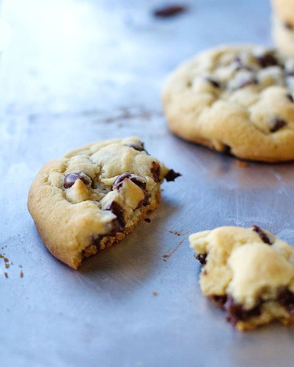 perfect chocolate chip cookies-7