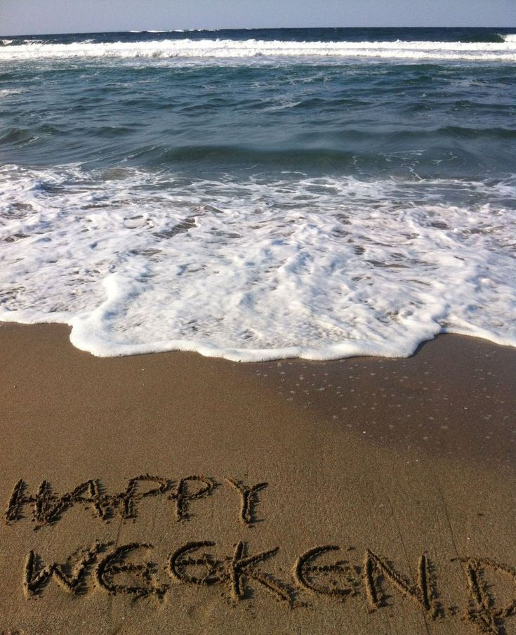 Happy weekend everyone! & Its still SUMMER!