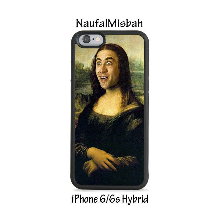Nick Cage Funny iPhone 6/6s HYBRID Case