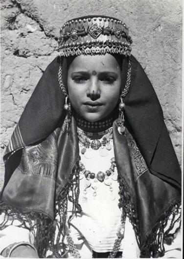 Young Amazigh girl - Morocco.
