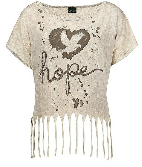 Daytrip Hope Cropped T-Shirt