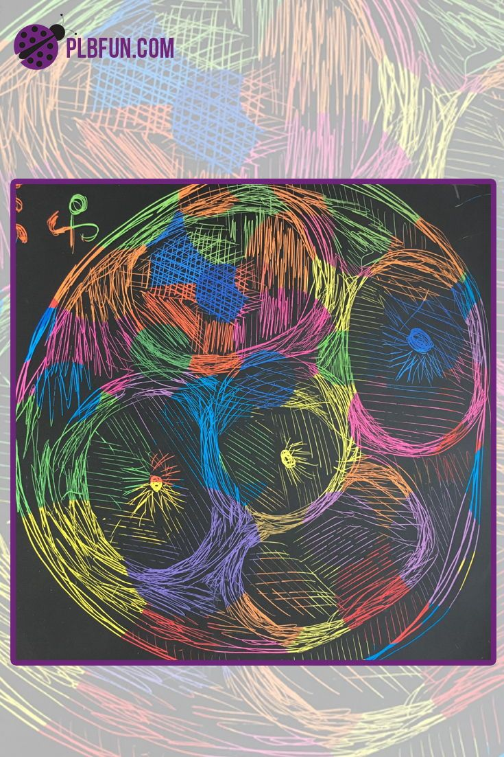 Pin On Scratch Art Drawing Ideas For Kids And Adults By Purple
