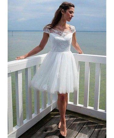 61 best Cheap Wedding Dresses images on Pinterest   Short wedding ...