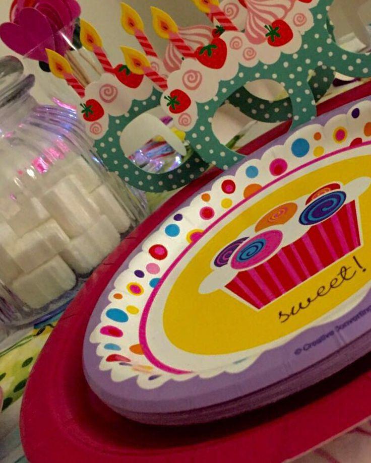 Compleanno bambina cupcake