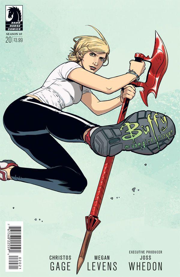 Buffy the Vampire Slayer Season 10 #10 (Rebekah Isaacs variant cover)