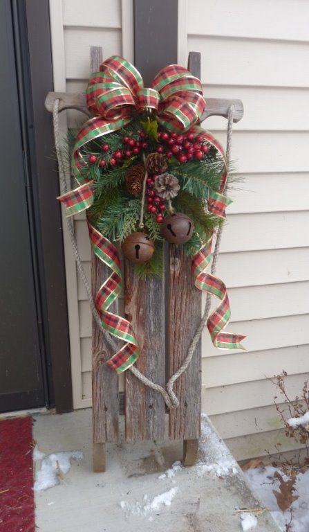 Best 25+ Christmas sled ideas on Pinterest | Sled ...