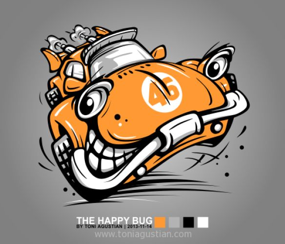 The Happy Bug