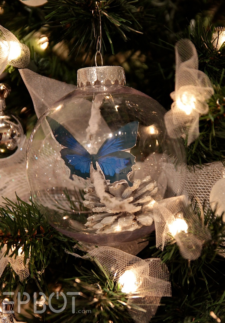 17 Best Images About Christmas Butterflies On Pinterest