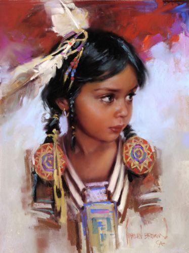 harley brown paintings | Brown, Harley, 1939- : Ayasha