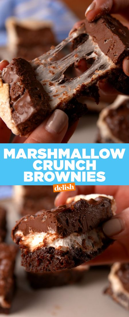 PSA: The fudgiest brownies we've ever made are totally gluten-free. Get the recipe at Delish.com.