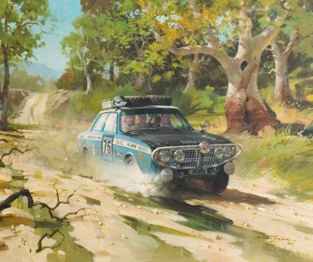 London to Sydney, Hillman Hunter Rally Car