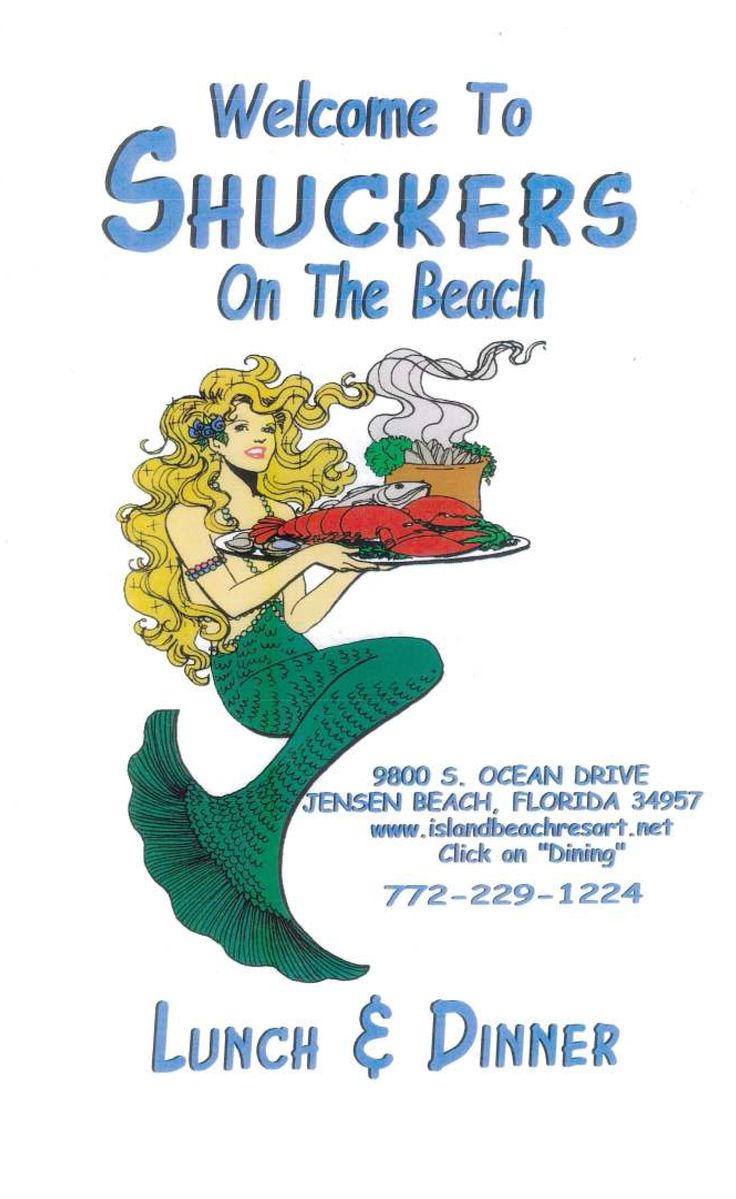 Shuckers Restaurant Hutchinson Island Florida