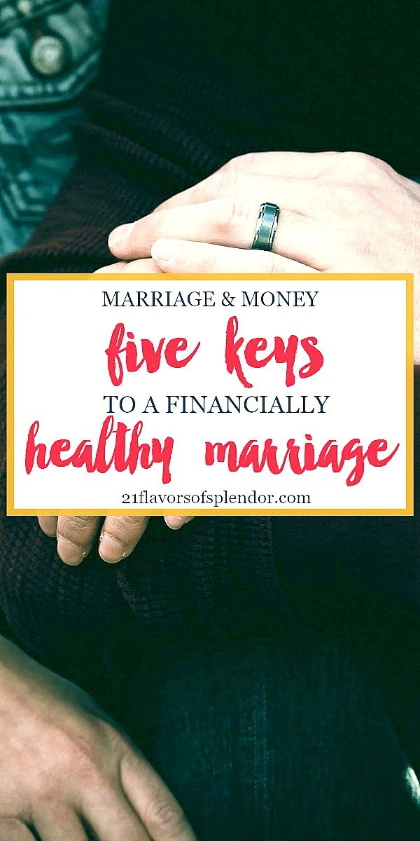 Marriage and Money: As we seek to have financial peace and journey towards financial freedom, there are five keys to having a financially healthy marriage. Click... #financialfreedom #finances #marriagetips